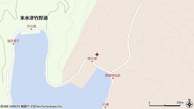 大分県佐伯市米水津大字小浦38周辺の地図