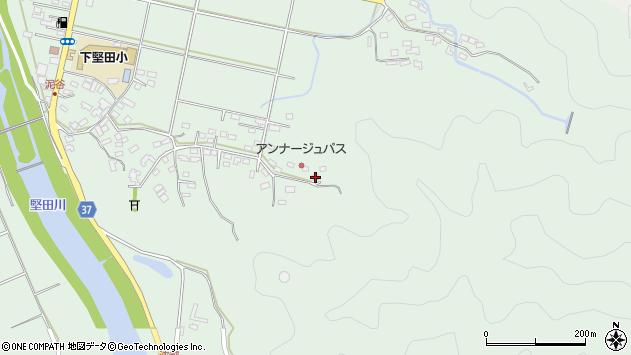 大分県佐伯市堅田5830周辺の地図