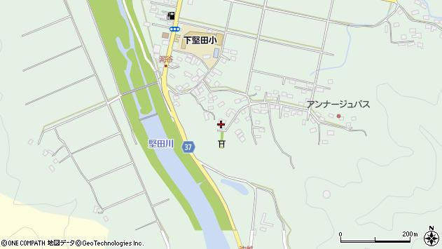 大分県佐伯市堅田5427周辺の地図