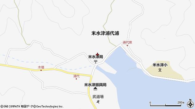 大分県佐伯市米水津大字浦代浦696周辺の地図