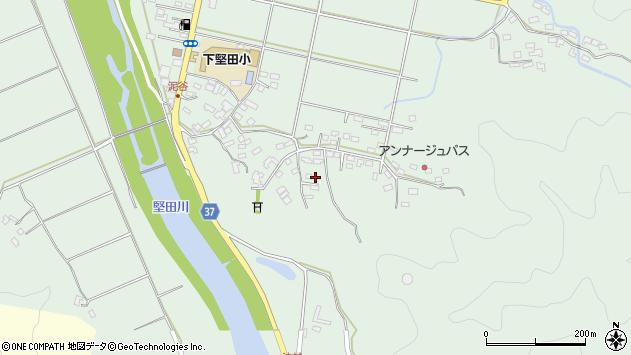大分県佐伯市堅田5495周辺の地図