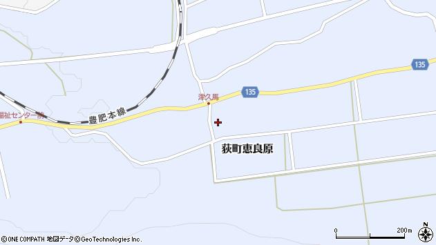 大分県竹田市荻町恵良原1892周辺の地図