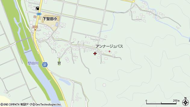 大分県佐伯市堅田5514周辺の地図