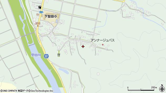 大分県佐伯市堅田5504周辺の地図