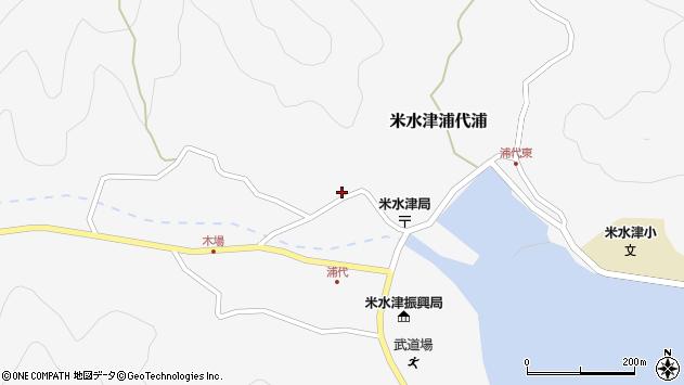 大分県佐伯市米水津大字浦代浦747周辺の地図