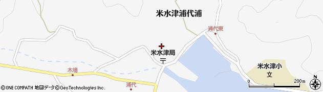 大分県佐伯市米水津大字浦代浦713周辺の地図