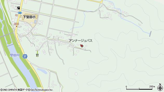 大分県佐伯市堅田5833周辺の地図