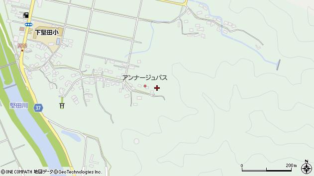 大分県佐伯市堅田5828周辺の地図