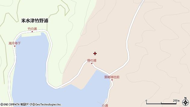 大分県佐伯市米水津大字小浦30周辺の地図