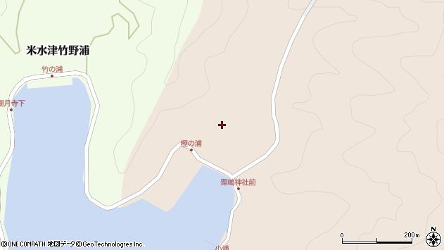 大分県佐伯市米水津大字小浦117周辺の地図