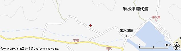 大分県佐伯市米水津大字浦代浦845周辺の地図