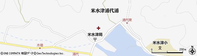 大分県佐伯市米水津大字浦代浦681周辺の地図
