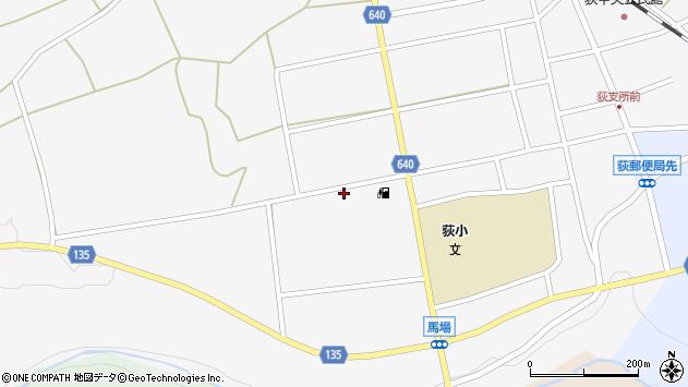 大分県竹田市荻町馬場520周辺の地図