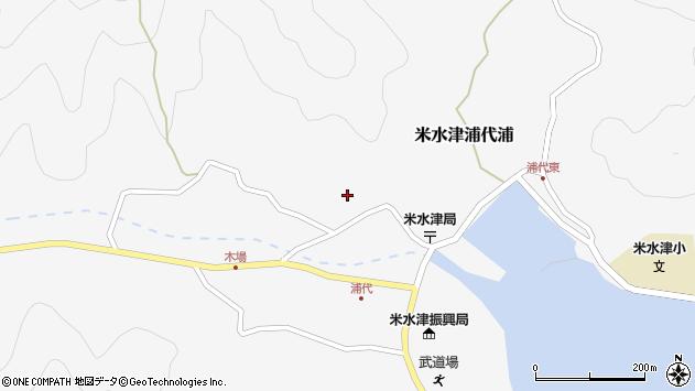 大分県佐伯市米水津大字浦代浦774周辺の地図