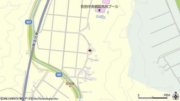 大分県佐伯市長谷2531周辺の地図