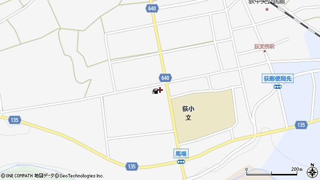 大分県竹田市荻町馬場519周辺の地図