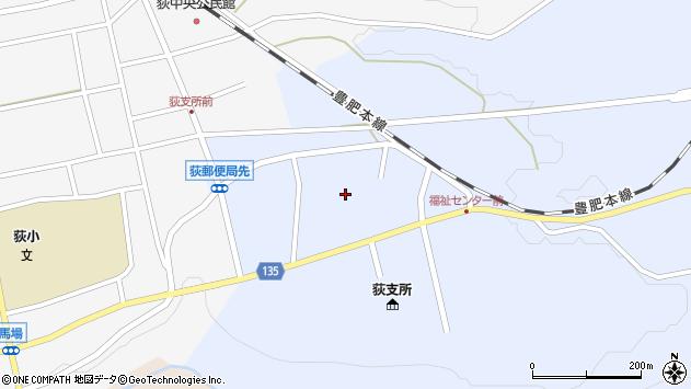 大分県竹田市荻町恵良原777周辺の地図