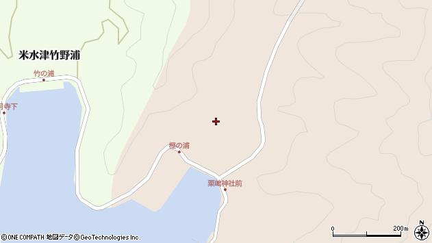 大分県佐伯市米水津大字小浦123周辺の地図