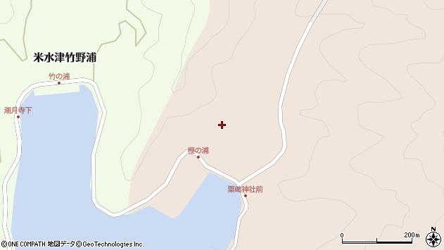 大分県佐伯市米水津大字小浦20周辺の地図