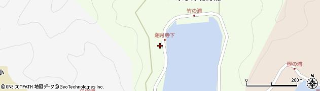 大分県佐伯市米水津大字竹野浦107周辺の地図