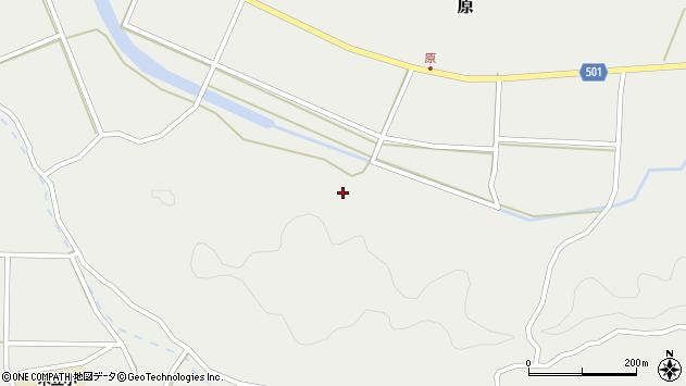 大分県佐伯市木立4671周辺の地図
