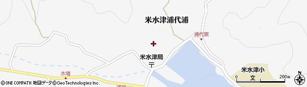 大分県佐伯市米水津大字浦代浦673周辺の地図