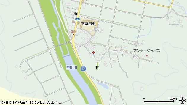 大分県佐伯市堅田5451周辺の地図