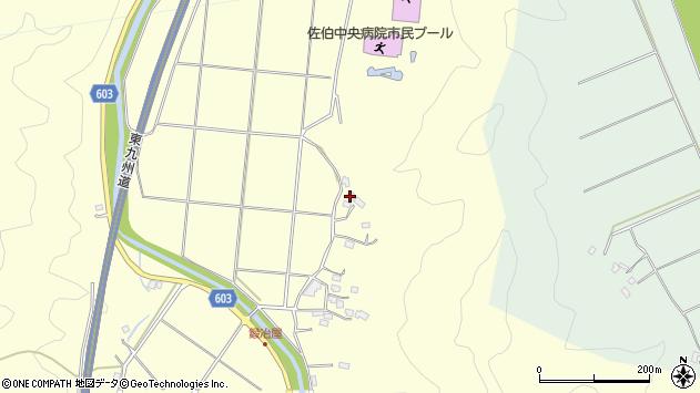 大分県佐伯市長谷2599周辺の地図