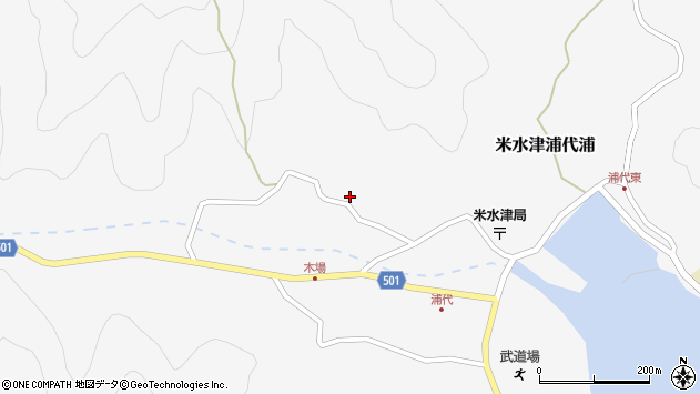 大分県佐伯市米水津大字浦代浦844周辺の地図