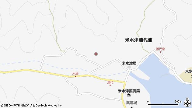 大分県佐伯市米水津大字浦代浦834周辺の地図