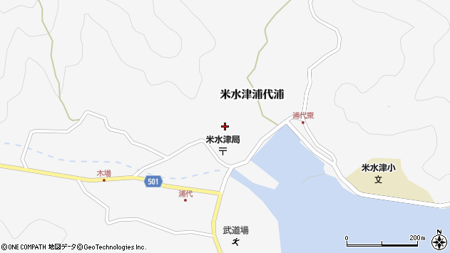 大分県佐伯市米水津大字浦代浦672周辺の地図