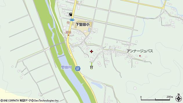大分県佐伯市堅田5462周辺の地図