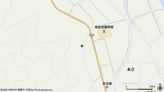 大分県佐伯市木立1010周辺の地図