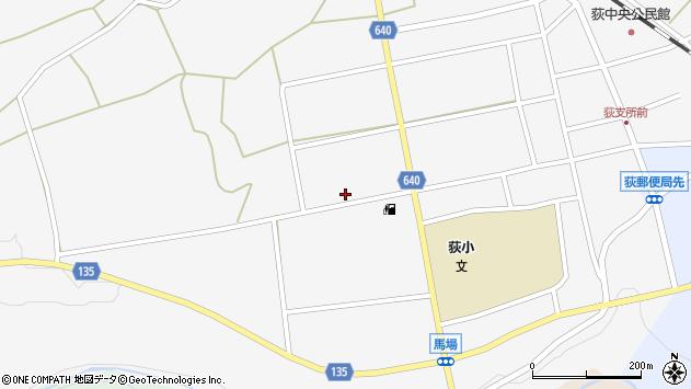 大分県竹田市荻町馬場521周辺の地図
