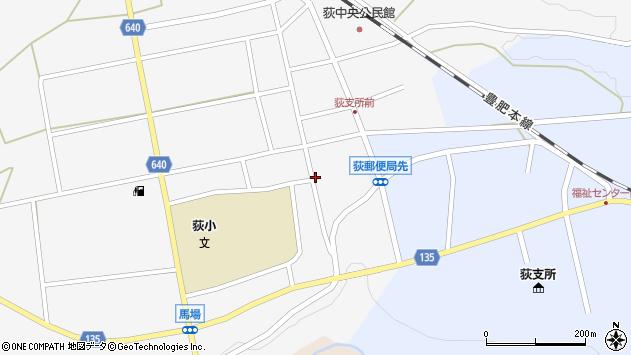 大分県竹田市荻町馬場436周辺の地図