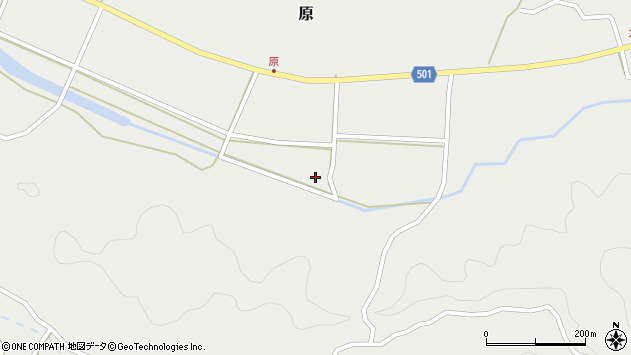 大分県佐伯市木立4685周辺の地図