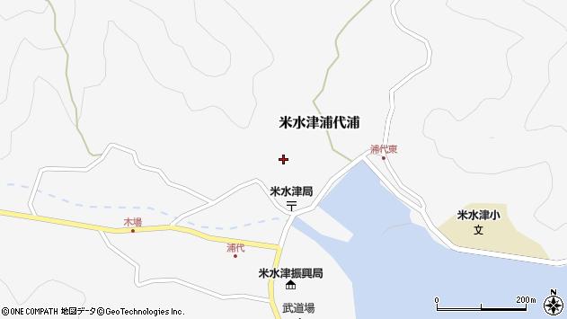 大分県佐伯市米水津大字浦代浦669周辺の地図