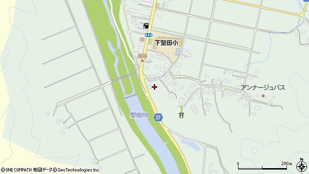大分県佐伯市堅田5568周辺の地図