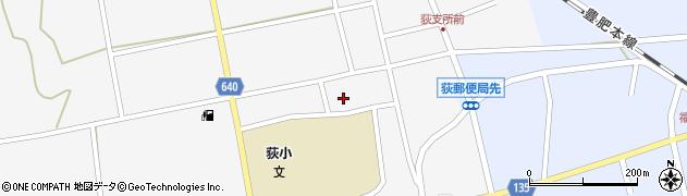 大分県竹田市荻町馬場458周辺の地図