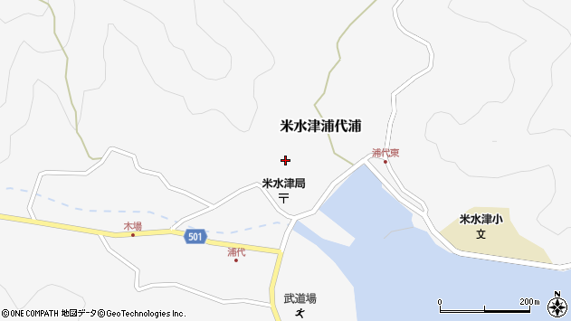大分県佐伯市米水津大字浦代浦670周辺の地図