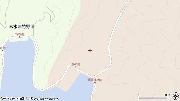 大分県佐伯市米水津大字小浦16周辺の地図