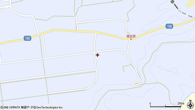 大分県竹田市荻町恵良原2198周辺の地図