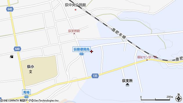 大分県竹田市荻町恵良原734周辺の地図