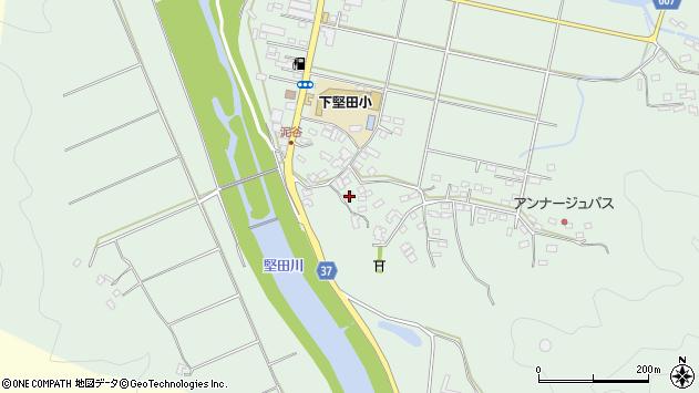 大分県佐伯市堅田5454周辺の地図