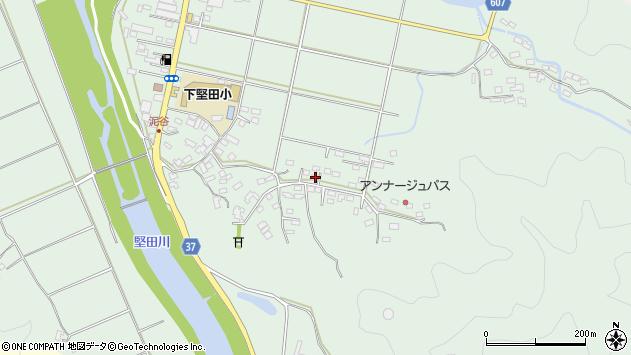大分県佐伯市堅田5489周辺の地図