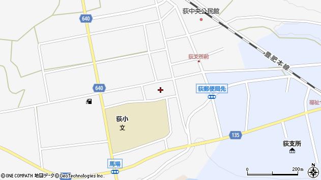 大分県竹田市荻町馬場525周辺の地図