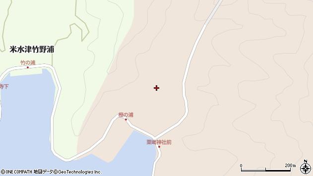 大分県佐伯市米水津大字小浦130周辺の地図