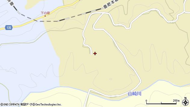 大分県竹田市荻町馬背野1404周辺の地図