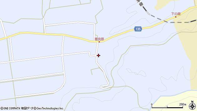 大分県竹田市荻町恵良原2279周辺の地図
