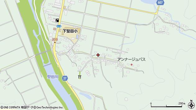 大分県佐伯市堅田5483周辺の地図